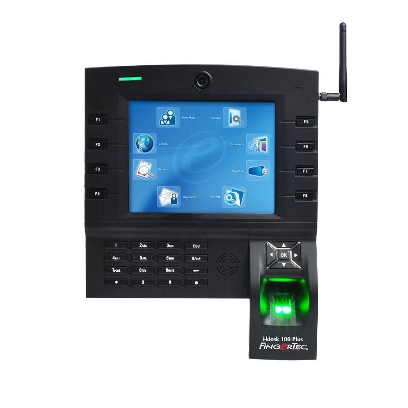 Терминал за контрол на достъп и отчитане на работно време FingerTec i-Kiosk
