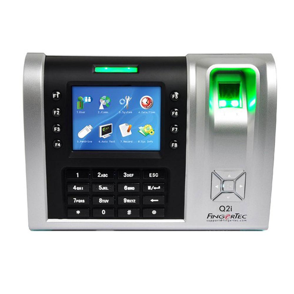 Терминал за контрол на достъп и работно време FingerTec Q2i