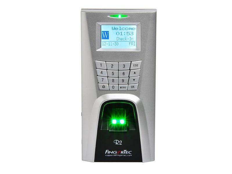 Терминал за контрол на достъп и работно време FingerTec R2